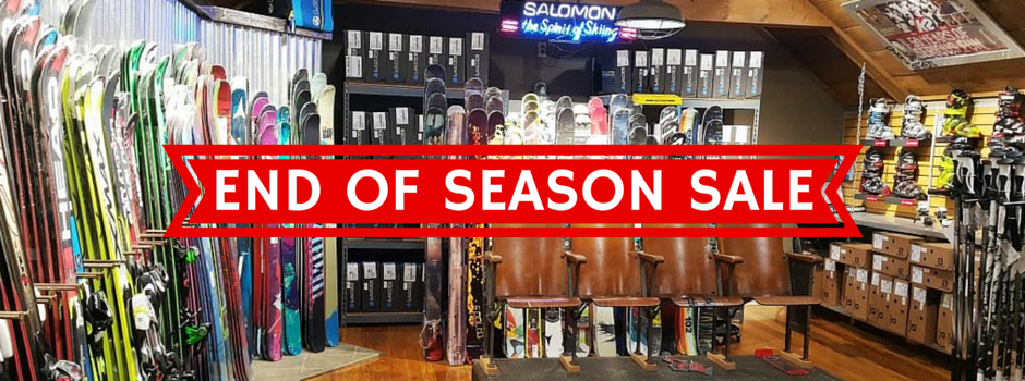 End of Season Sale!